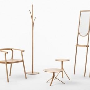 Splinter Furniture Collection by Nendo for Conde House