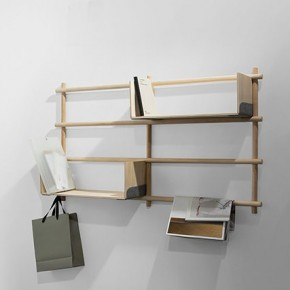 Foldin Modular Shelving by etc.etc for EMKO