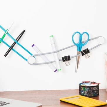 Versatile Wall Storage System Loopits by Quirky