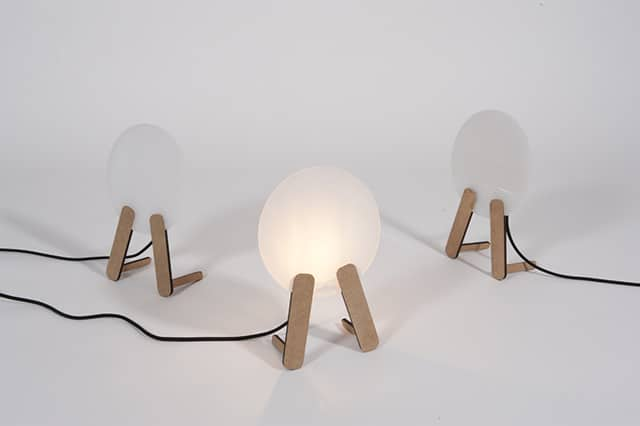 Sheet Lamp by MadeByWho