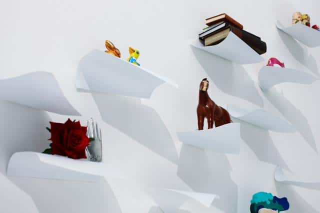 Blow Wall Shelving System by YOY
