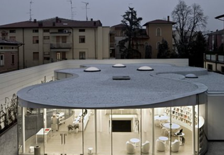 Maranello Library by Andrea Maffei Architects