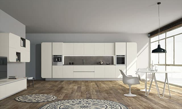 Numerouno Modular Kitchen System by Doimo Cucine