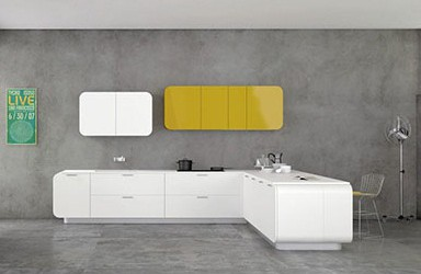 Numerouno Kitchen System by Doimo Cucine