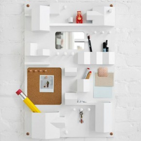 Suburbia Wall Storage by Note Design Studio