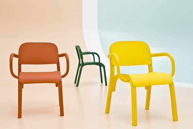 Dumbo Solid Wood Armchair by Tomek Rygalik for Moroso