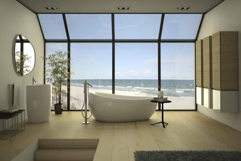 Etna Bathroom Furniture Collection by Danelon Meroni