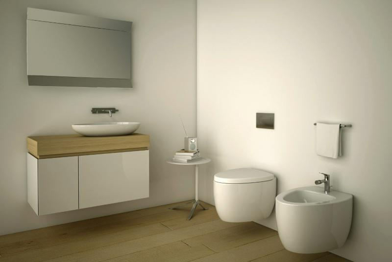 Etna Bathroom Furniture Collection by Danelon Meroni