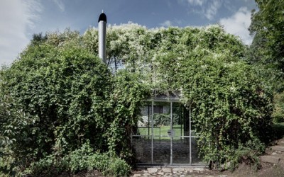 Green Box Garden Shelter by act_romegialli