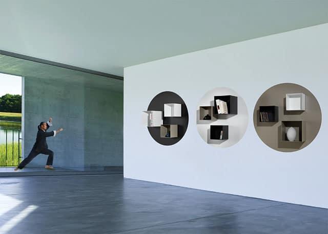 Magnetic Spirit Modular Wall Shelving System