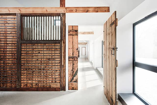 An Old Stable Transformed into a 3-Bedroom Home