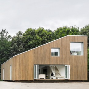 WFH Sustainable Prefab House by Arcgency