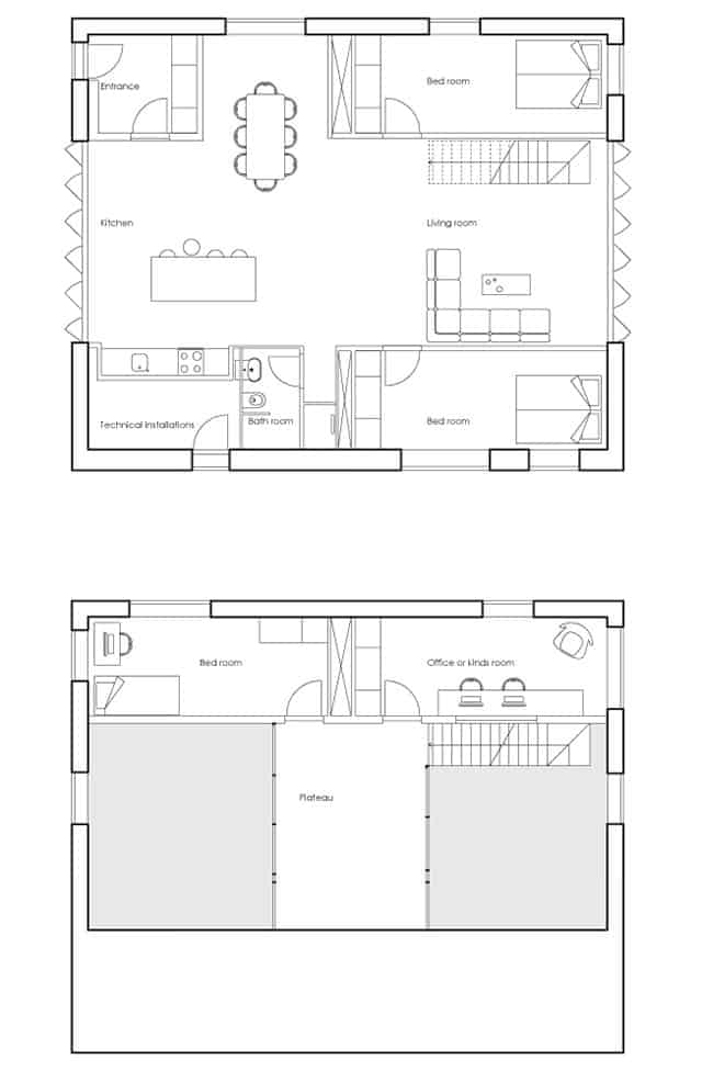 WFH Shipping Container House by Arcgency