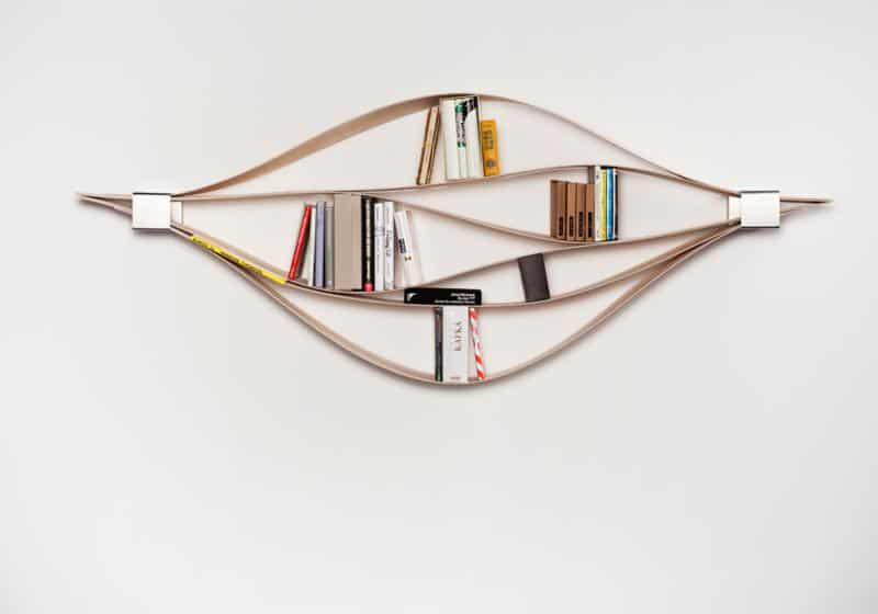Chuck Flexible Wooden Wall Shelf by Natascha Harra-Frischkorn ...