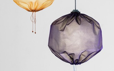 Drawstring Lamp by Design Stories and Returhuset