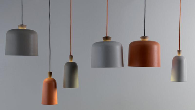 Fuse Porcelain Pendant Lamp by Note Design Studio for E-xt