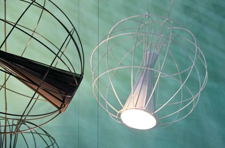 Latitude Lamp by Flynn Talbot