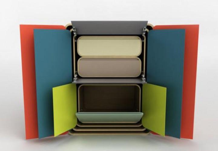Matrioshka Storage System by Sasa Mitrovic