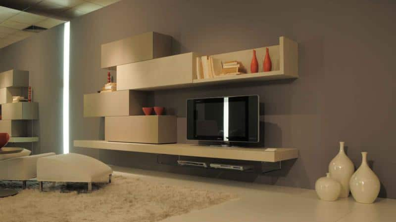 Charmant ... Ideas Modern Living Room With TV Unit