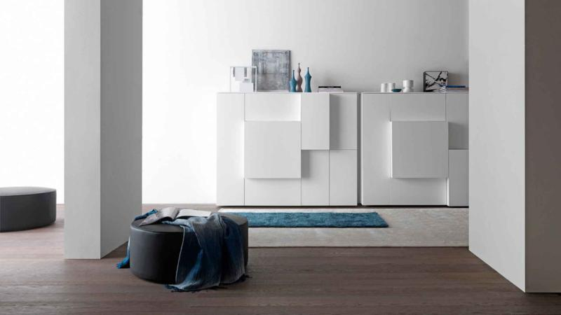 White Living Room Storage Furniture