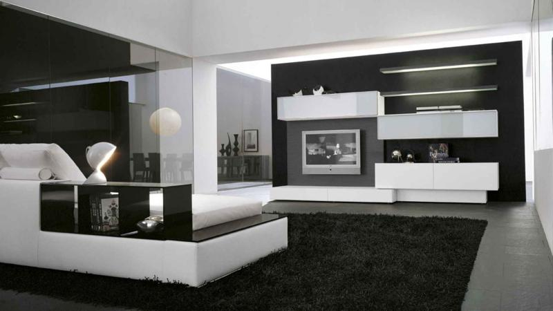 Modern Living Room Design with Lights