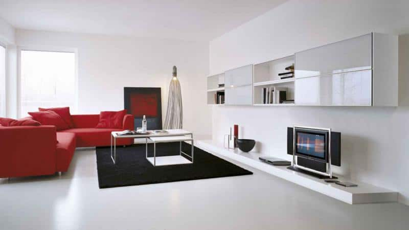 Simple Living Room Furniture Design