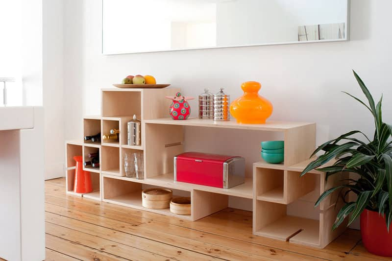 MoModul Modular Storage Furniture System by Xavier Coenen