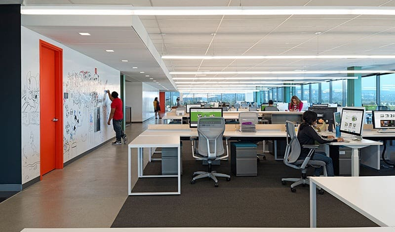 Evernote silicon valley hq by studio o a - Office interior design photo gallery ...