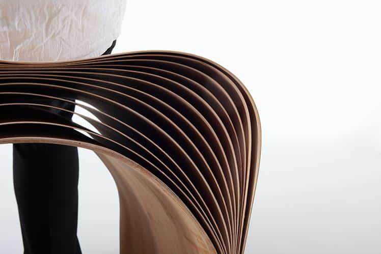 Hangzhou Stool by Min Chen