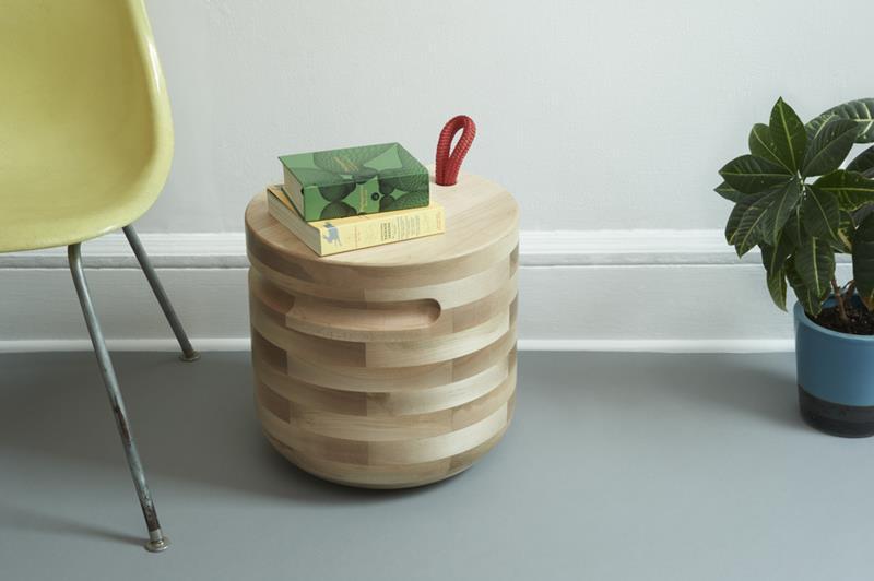 Plug Side Table by Savage Works