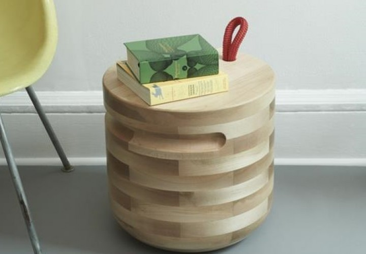 Plug Side Table by Savage Works