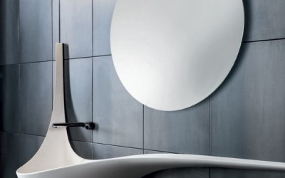 Wing Wall Sink by Ludovico Lombardi for Falper