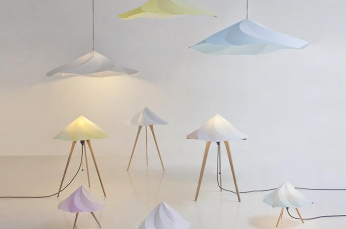 The Chantilly Lamps by Constance Guisset for Moustache