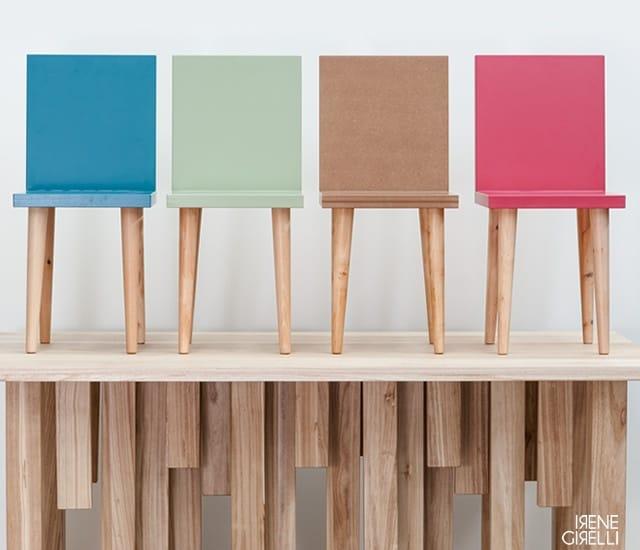 Metrie Chair by Irene Girelli
