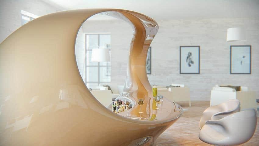 Nasvtia Bar Lounge by Nuvist