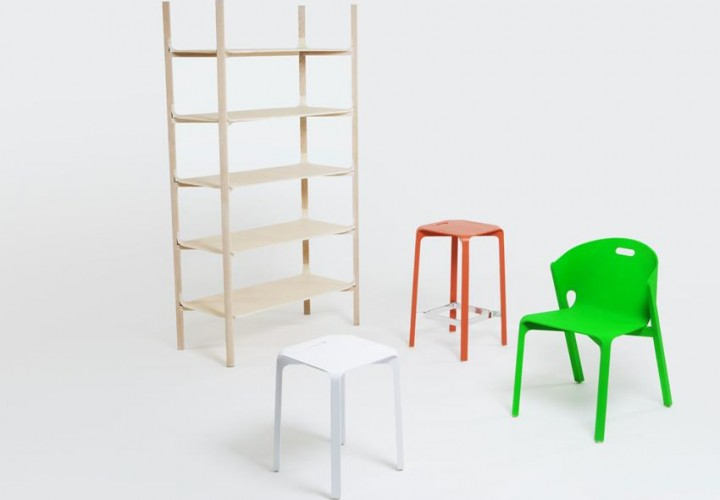 Pelt Furniture Collection by Benjamin Hubert