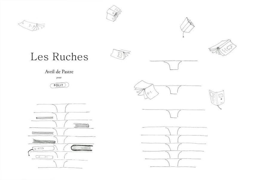Les Ruches Low Tables by Avril de Pastre