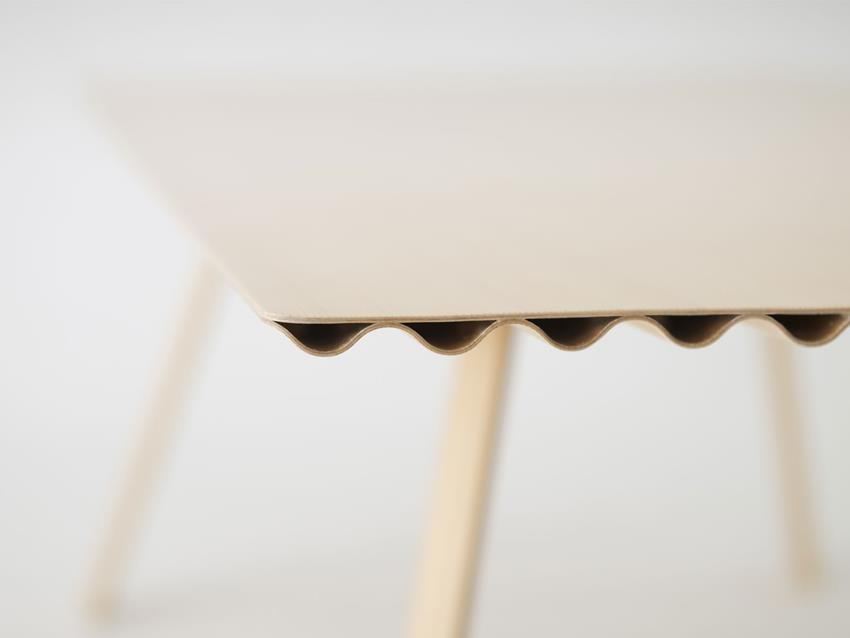 Ripple Table by Benjamin Hubert