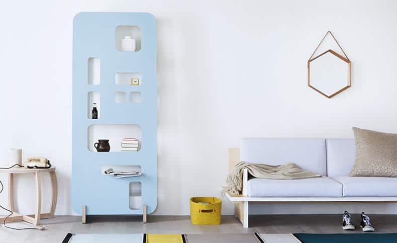 Priscilla Shelf by Gradosei for Formabilio