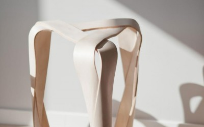 Ribbon Stool by Jan Lutyk