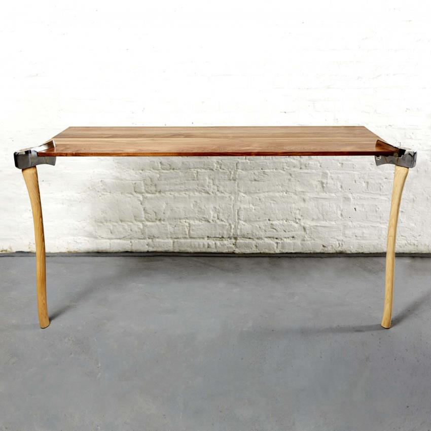 Woodsman Axe Tables by Duffy London