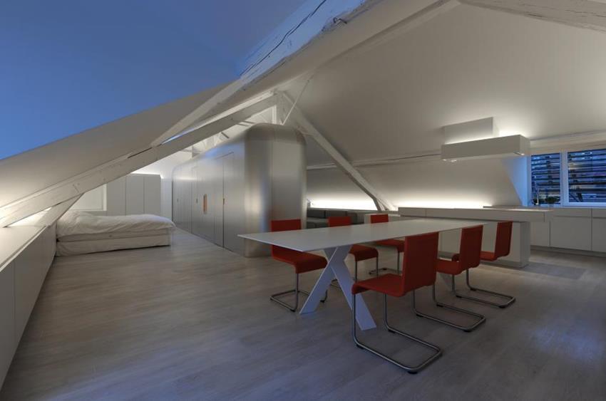 Kempart Loft by Dethier Architecture