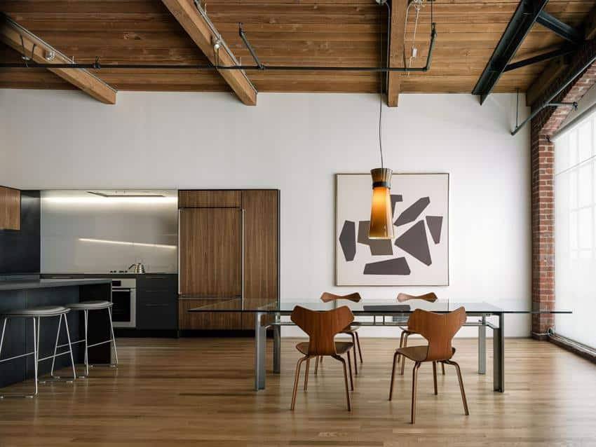 San Francisco Loft Renovation by LINEOFFICE Architecture