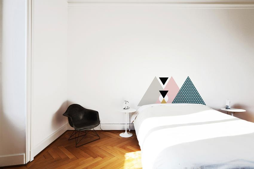 Scandinavian Headboards by Marie-Pier Guilmain and Maud Beauchamp