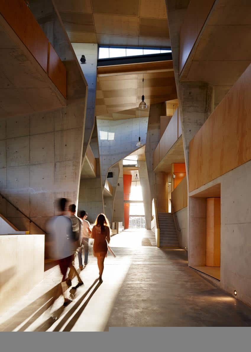 The Abedian School of Architecture by Crab Studio