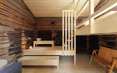 Sauna Tonttu by Lassila Hirvilammi Architects