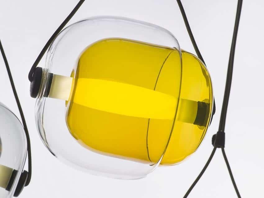 Capsula Pendant Light by Lucie Koldova