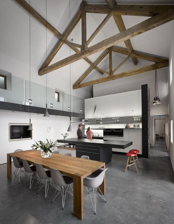 Cat Hill Barn Renovation by Snook Architects