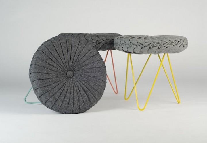 Coterie Stool by Daniel Duarte