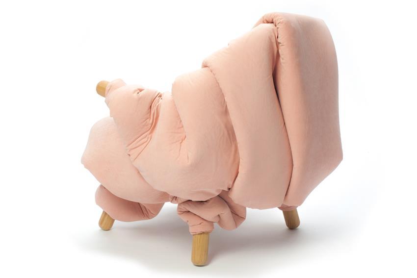 Flesh Chair by Nanna Kiil